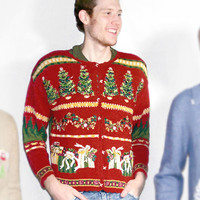Christmas Trees and Gifts Tacky Ugly Christmas Sweater - The Ugly Sweater Shop