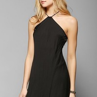 Silence + Noise Silky Scarf Halter Dress - Urban Outfitters