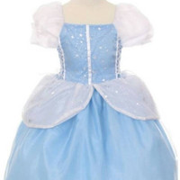 Cinderella inspired princess costume  Great for Birthday parties, Halloween or dress up. Limited quantities