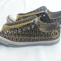 Sherlock inspired Converse All Stars