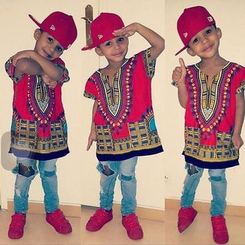 Kids Dashiki For Boys and Girls