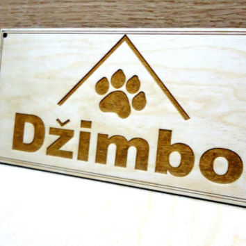Custom House Wood Name Dog Signs Cat Pet Signs Dog paw prints Personalized Gifts Name Dog house Signs Pet