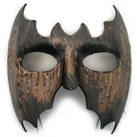 Scar Face Hand-Painted Masquerade Mask