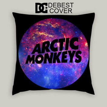 Arctic Monkeys Galaxy Logo Pillow Cases Square Available In 16 x 16 Inches 18 x 18 Inches 20 x 20 Inches