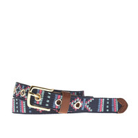 J.Crew Womens Embroidered Belt
