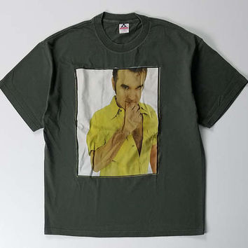 Morrissey Tour T-Shirt Size XL