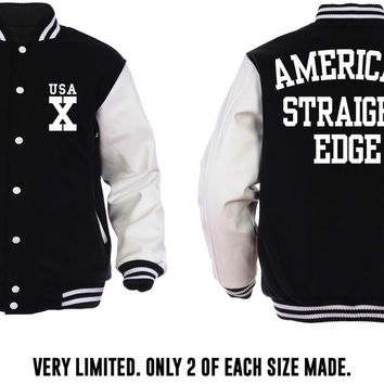American Straight Edge Letterman Jacket
