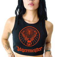 Jagermeister For Womens Crop Tank **
