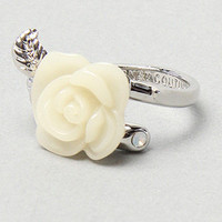 Karmaloop.com - Global Concrete Culture - The Rose Ring in White by Disney Couture Jewelry