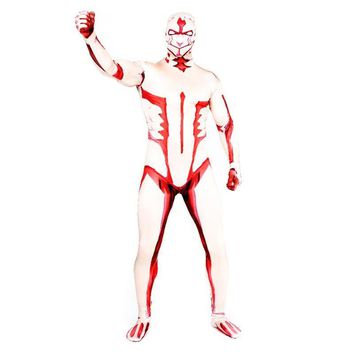 Cool Attack on Titan BOOCRE Anime  cosplay Armored  Costumes Jumpsuits Zentai Halloween Party Clothing Leotard AT_90_11