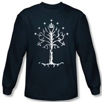 Long Sleeve: Lord of the Rings - Tree of Gondor Longsleeve Shirt Size M