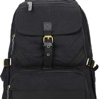 jeansian Men's Fashion Vintage Tour Camping Canvas Backpack Bag BGA005