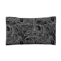 Computer Circuit Board Small Cosmetic Bag