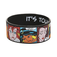 Disney Princess Pop Art Rubber Bracelet | Hot Topic