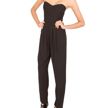 Park Avenue Jumpsuit - Black