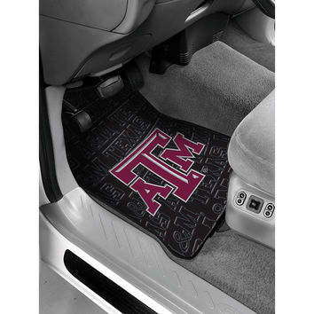 Texas A&M Aggies NCAA Car Front Floor Mats (2 Front) (17x25)