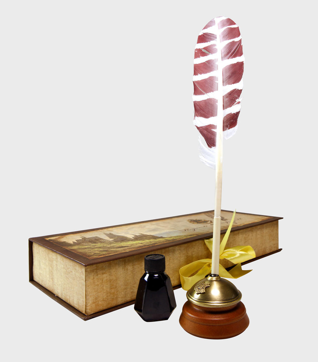 Harry Potter Bathroom Accessories Hogwarts Writing Quill With Ink Pot From Harry Potter