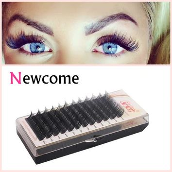 Eye Lashes Extension 0.05 Thickness Curl BCD Soft Silk Korea Individual Eyelash,Natural Soft False Eyelash Extensions