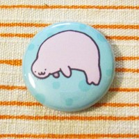 Manatee Badge