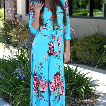 Lovely In Mint Maxi