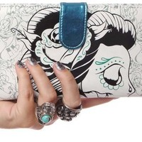 Iron Fist Zombie Girl Wallet