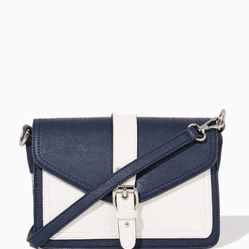 Tristan Buckled Colorblock Crossbody | Fashion Handbags & Purses | charming charlie
