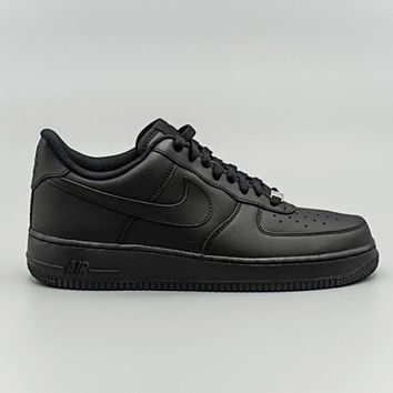 spbest NIKE - Men - Air Force 1 Low - Black Mono 9ae4fc99e8