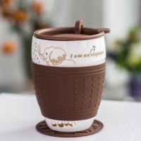 Cask Elephant Mug Cup Ceramic Cup Insulated Coffee Cup