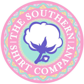 Southern Shirt Tribal Logo Sticker