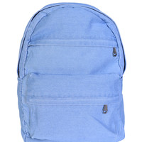 Light Wash Denim Backpack