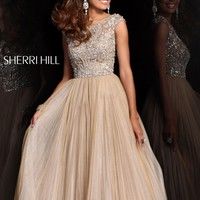 Sherri Hill 2984 Beaded Ball Gown