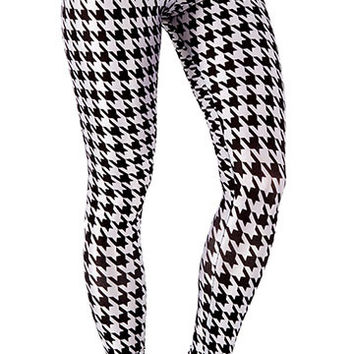 Hounds Tooth Leggings