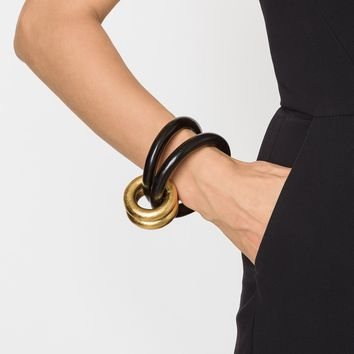 Monies Double Ring Bangle - Patron Of The New - Farfetch.com