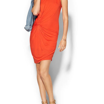 Young Fabulous & Broke Chandra Dress In Flame (Orange) Womens Size Medium Nwt