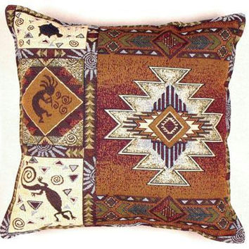 Throw Pillow - Native American Theme