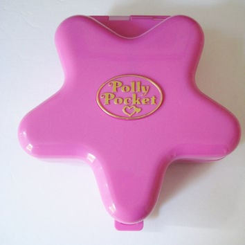 Vintage 1993 Polly Pocket Fairylight Wonderland Compact Bluebird Compact Toy Light Up Polly Pocket Compact Large NO Figures Clean Used