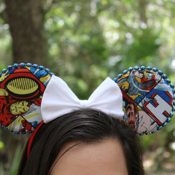 Marvel Avengers Custom Mickey Ears