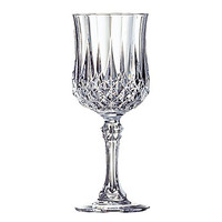 Cristal D'Arques Longchamp 5-3/4-Ounce Goblet, Set of 4