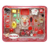 Olivia Deluxe Dress-up Doll Set with Storage Bag