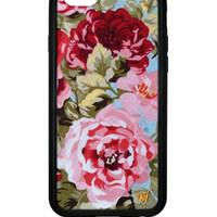Wildflower Blue Floral iPhone 6 Case