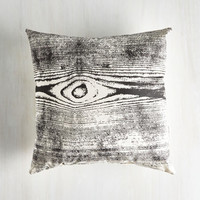 ModCloth Rustic Forest Impressions Pillow