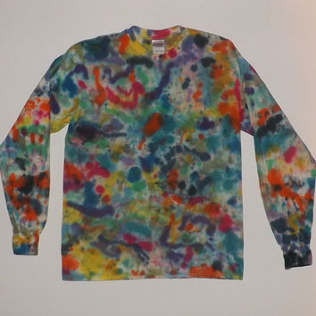Artsy Long Sleeve Tie Dye T-Shirt