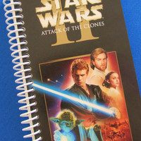 STAR WARS Notebook Journal upcycled spiral by PortElizabethVillage