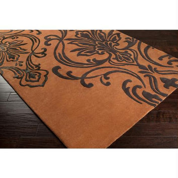 Area Rug - 5' X 8' - Colors Include Adobe,espresso Brown,caviar Orange