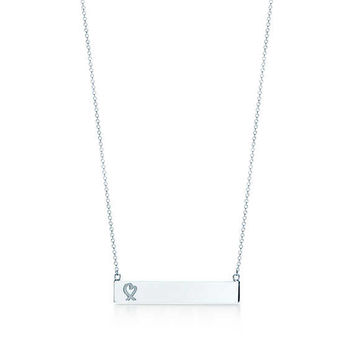 Tiffany & Co. - Paloma Picasso®:Loving Heart Bar Pendant