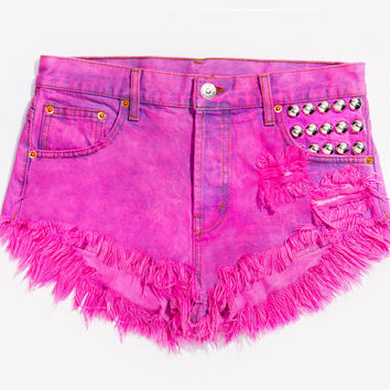 450 Barbie Studded Babe Shorts