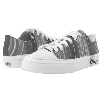 Gray Mist Driving Dreams Women's Low Top Shoes