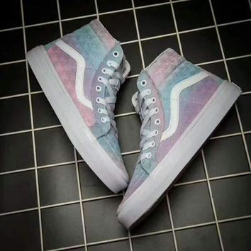 Vans Old SKOOL sports shoes Casual shoes colorful high tops soles G-JJ-MYZDL
