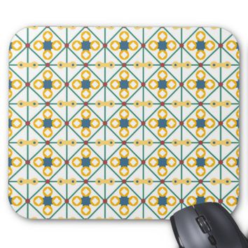 Eastern Pattern Mouse Pad