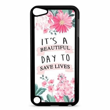 Grey Anatomy Quotes iPod Touch 5 Case